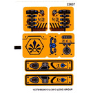 LEGO Sticker Sheet for Set 70002 (13378)