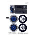 LEGO Sticker Sheet for Set 70003 (13277)