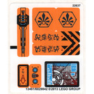 LEGO Sticker Sheet for Set 70005 (13461)