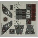 LEGO Sticker Sheet for Set 70009 (14175)