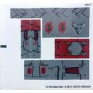 LEGO Sticker Sheet for Set 70012-2 (12783)