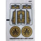 LEGO Sticker Sheet for Set 70123 (15682)