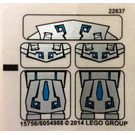 LEGO Sticker Sheet for Set 70125 (15756)