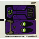 LEGO Sticker Sheet for Set 70128 (16380)