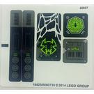LEGO Sticker Sheet for Set 70130 (16425)