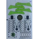 LEGO Sticker Sheet for Set 70132 (16335)