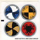 LEGO Sticker Sheet for Set 7016 / 7019 (54207)