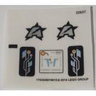 LEGO Sticker Sheet for Set 70162 (17635)