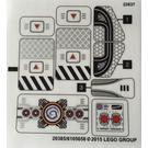 LEGO Sticker Sheet for Set 70168 (20385)