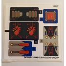 LEGO Sticker Sheet for Set 70319 (24388 / 24389)