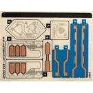 LEGO Sticker Sheet for Set 70351 (29011)