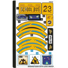 LEGO Sticker Sheet for Set 70423 (60524)