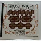 LEGO Sticker Sheet for Set 70425 (63812)