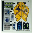 LEGO Sticker Sheet for Set 70433 (68992)