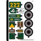 LEGO Sticker Sheet for Set 70434 (68993)