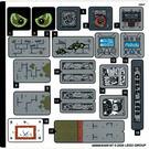 LEGO Sticker Sheet for Set 70435 (68996)