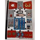 LEGO Sticker Sheet for Set 70436 (68998)