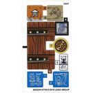 LEGO Sticker Sheet for Set 70594 (26322 / 26323)