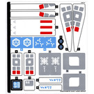 LEGO Sticker Sheet for Set 70616 (33397)