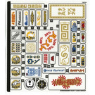 LEGO Sticker Sheet for Set 70620 (35364)