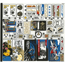 LEGO Sticker Sheet for Set 70657 (39276)