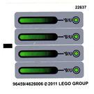 LEGO Sticker Sheet for Set 7067 (96459)