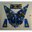 LEGO Sticker Sheet for Set 7067 (97943)