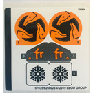 LEGO Sticker Sheet for Set 70672 (57035)