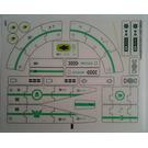 LEGO Sticker Sheet for Set 70704 (13069)