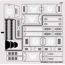 LEGO Sticker Sheet for Set 70705 (13070)