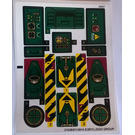 LEGO Sticker Sheet for Set 70735 (21038 / 21039)
