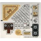 LEGO Sticker Sheet for Set 70751 (23199)