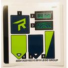 LEGO Sticker Sheet for Set 70826 (48041)
