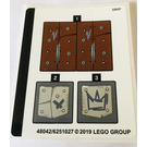 LEGO Sticker Sheet for Set 70827 (48042)