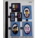 LEGO Sticker Sheet for Set 70831 (48070)