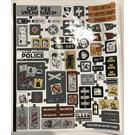 LEGO Sticker Sheet for Set 70840 (53482)