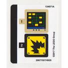 LEGO Sticker Sheet for Set 70900 (29677)