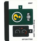 LEGO Sticker Sheet for Set 70903 (30713)