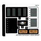 LEGO Sticker Sheet for Set 70911 (30715)