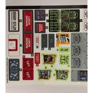 LEGO Sticker Sheet for Set 70912 (32777)