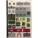 LEGO Sticker Sheet for Set 70912 (932777)