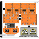 LEGO Sticker Sheet for Set 70914 (34009)