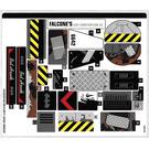 LEGO Sticker Sheet for Set 70915 (34220)