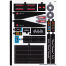 LEGO Sticker Sheet for Set 70916 (33908)