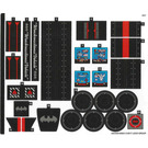 LEGO Sticker Sheet for Set 70917 (34378)