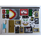 LEGO Sticker Sheet for Set 70922 (37562)