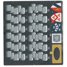 LEGO Sticker Sheet for Set 71040 (27944 / 27947)