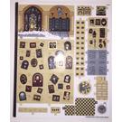 LEGO Sticker Sheet for Set 71043 (41266)