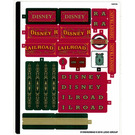 LEGO Sticker Sheet for Set 71044 (51350)