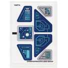 LEGO Sticker Sheet for Set 71173 (23760)